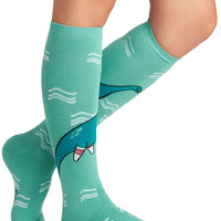 ModCloth Quirky, Scholastic Got It on Loch Ness Socks