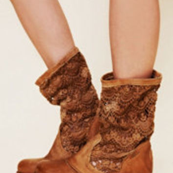 Bunker Crochet  Boot at Free People Clothing Boutique