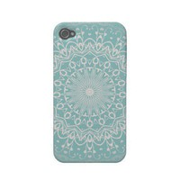 Abstract swirl pattern iphone 4 cases from Zazzle.com