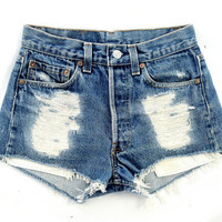 Mangled Short cut offs by Omeneye on Etsy