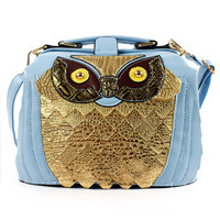 Cute Owl Cross Body Bag