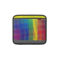 Rainbow Patch iPad & Laptop Sleeve. Design by Janet Antepara