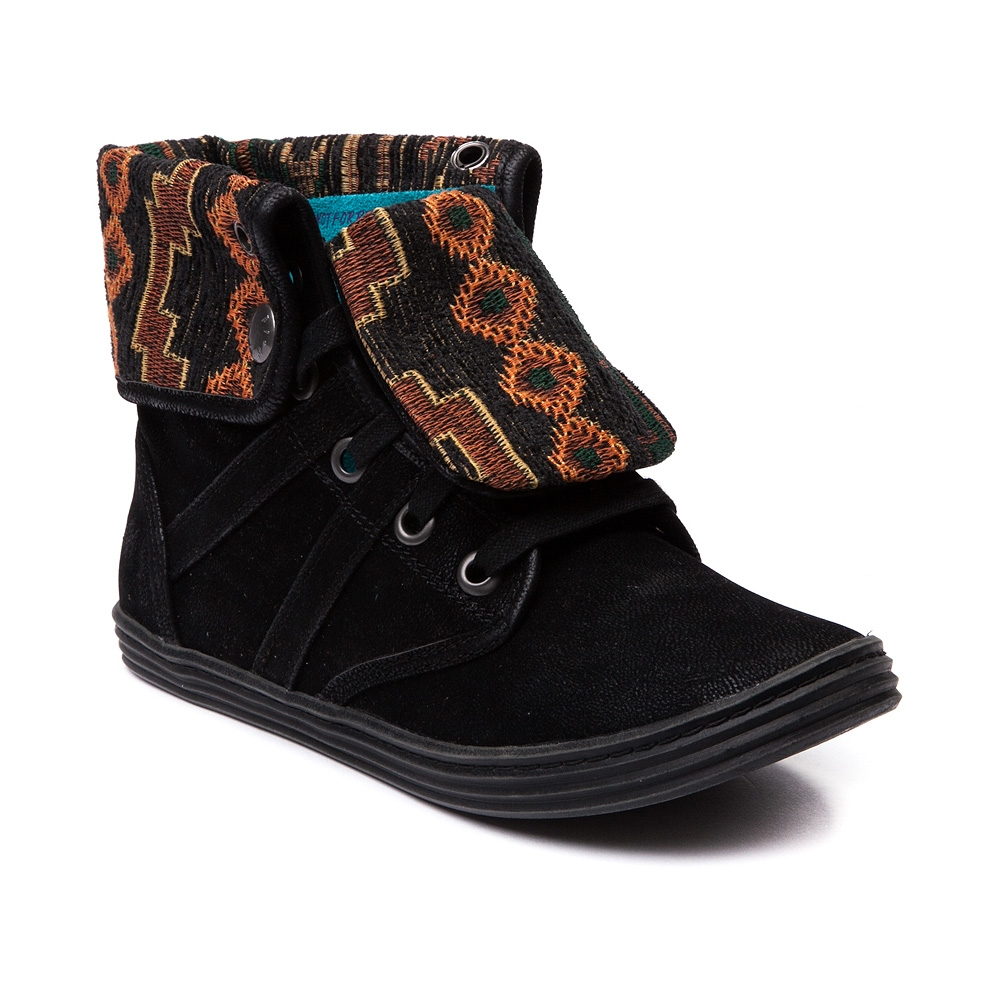 Womens blowfish razmitten boot black from journeys for Blow fish shoes