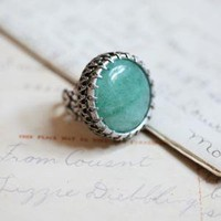 Aventurine ring by Ollipop