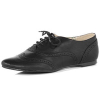 Black lace up brogues - Shoes  - Dorothy Perkins United States