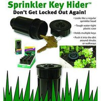 ThinkGeek :: Sprinkler Hide-A-Key