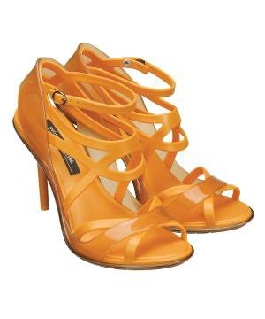 Jean Paul Gaultier Stiletto in Orange