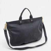 Clare Vivier / Navy Nubuck Messenger Bag