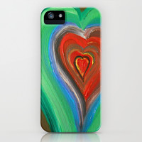 Rainbow Love iPhone & iPod Case by Rokin Art by RokinRonda