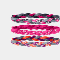 Women's UA Braided Mini Headbands - 3pk | 1235638 | Under Armour US