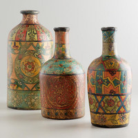 Recycled Terracotta Bottles | World Market
