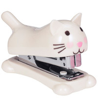 foxtrot cute cat stapler at Paperchase