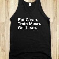 EAT CLEAN – TRAIN MEAN