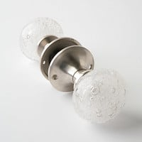 Glass Bubble Doorknob by Anthropologie