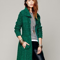 Free People Loch Raven Sweater Jacket