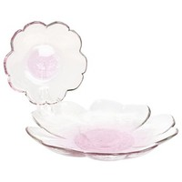 Tag Peony Plates - Set of 2, Glass - Save 53%