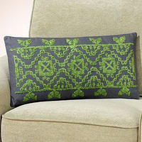 Tonal Tapestry Toss Pillow  - Decorative Pillows - Cost Plus World Market
