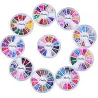 Cheeky 10 Wheels Super Set of Nail Art Fimo Slices Fimo Decal Pieces Accessories. The Perfect 3d Nail Art Decorations. 120 Different Designs!!!:Amazon:Beauty