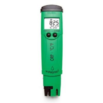 Hanna Instruments HI98120 Waterproof ORP/Temperature Tester, +/-1000mV ORP, +/-2mV ORP Accuracy, 1mV ORP Resolution