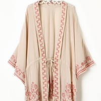 Free People Bette Bed Jacket