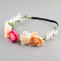 Multi Flower Headrwap