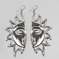 Face the Sun Earrings - Jewelry | GYPSY WARRIOR