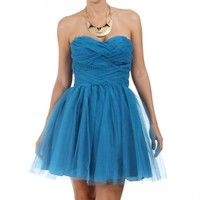 Taylor-Teal Homecoming Dress