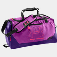UA Hustle Storm SM Duffel | 1241751 | Under Armour US
