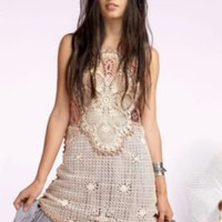 Peruvian Crochet Dress at Free People Clothing Boutique