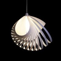 Large Nautica - Organic Light Shade from Kaigami Ltd | Made By Kaigami | £53.00 | BOUF