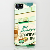 Big Daddy's drive in iPhone & iPod Case by Sylvia Cook Photography
