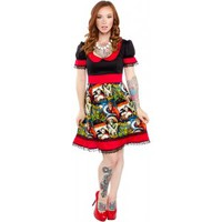 PAPERDOLL MONSTERS DRINK DRESS