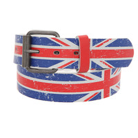 Union Jack Belt | Hot Topic