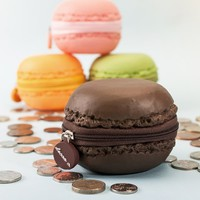 Scented Macaron Coin Purses at Firebox.com