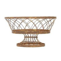 Aidan Gray Decor Oval Basket Large