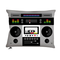 Aksel Varichon: Ghetto Blaster Pillow 20x14, at 25% off!