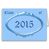 Class of 2015 Graduation Announcement Card