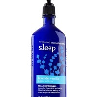 Sleep - Lavender Vanilla Body Lotion   - Aromatherapy - Bath & Body Works