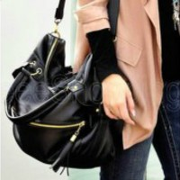 New Korean Hobo Tassel Handbag Cross Body Shoulder Bag Large Capacity handbag