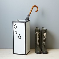 Umbrella Stand - Raindrops