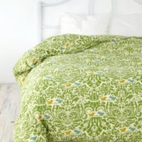 UrbanOutfitters.com &gt; Birdie Stamp Duvet Cover