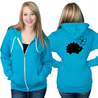 Hedgehog American Apparel Zip Up Hoodie