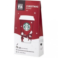 Starbucks VIA® Christmas Blend Coffee:Amazon:Grocery & Gourmet Food