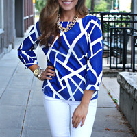 Azul Earthquake Blouse
