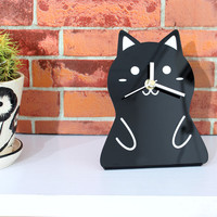 Cute Cat Table Clock