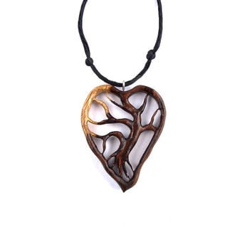 Wooden Pendant Tree Of Life Wooden From Gatewayalpha Wood