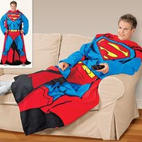 "HarrietCarter.com: Gift Directory | Gifts by Interest | Fun & Games | ""Superman"" Blanket"