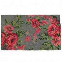 Nonslip English Rose Doormat | DotComGiftShop