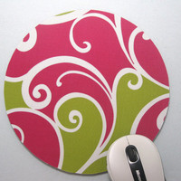 Mouse Pad / Mousepad / Trivet Whimsy Surf by GilmoreCreations