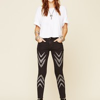 Free People Dotted Ikat Skinny